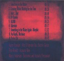 Back cover of RED DISPERSION